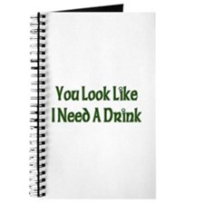 St. Patrick's Day - I Need A Drink Journal
