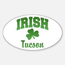 Tucson Irish Oval Decal