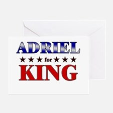 ADRIEL for king Greeting Card