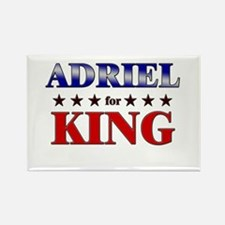 ADRIEL for king Rectangle Magnet