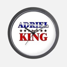 ADRIEL for king Wall Clock