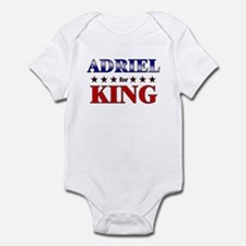 ADRIEL for king Infant Bodysuit