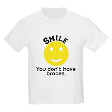 Smile braces T-Shirt