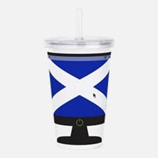 Scottish Computer Scre Acrylic Double-wall Tumbler