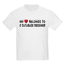 Belongs To A Database Designer T-Shirt