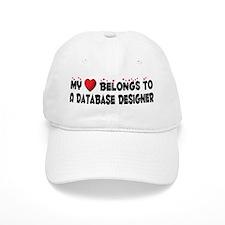 Belongs To A Database Designer Baseball Cap