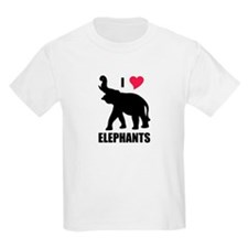 I Love Elephants T-Shirt
