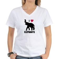 I Love Elephants Shirt