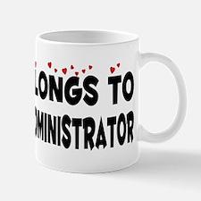 Belongs To A Database Administrator Mug