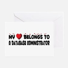 Belongs To A Database Administrator Greeting Card