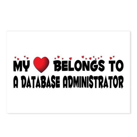 Belongs To A Database Administrator Postcards (Pac