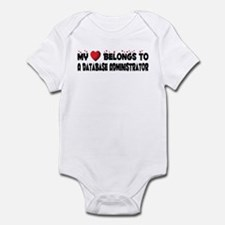 Belongs To A Database Administrator Infant Bodysui