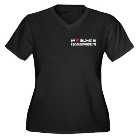 Belongs To A Database Administrator Women's Plus S