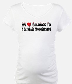 Belongs To A Database Administrator Shirt