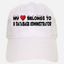 Belongs To A Database Administrator Baseball Baseball Cap