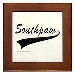 SOUTHPAW Framed Tile