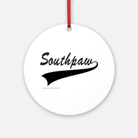 SOUTHPAW Ornament (Round)