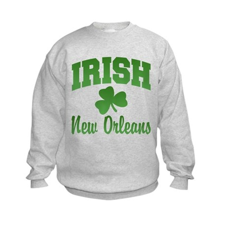 New Orleans Irish Kids Sweatshirt
