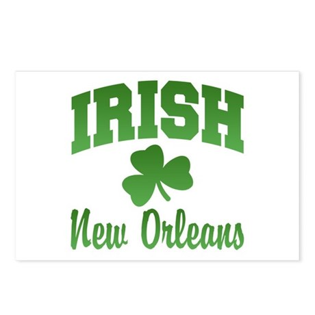 New Orleans Irish Postcards (Package of 8)