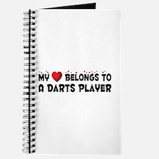 Belongs To A Darts Player Journal