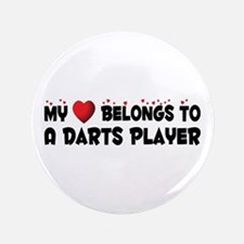"Belongs To A Darts Player 3.5"" Button"