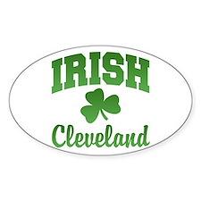 Cleveland Irish Oval Decal