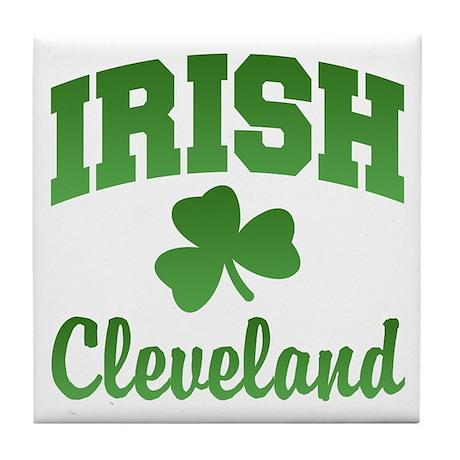 Cleveland Irish Tile Coaster