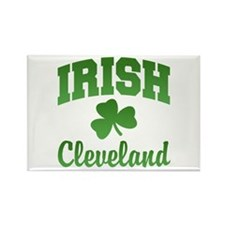 Cleveland Irish Rectangle Magnet