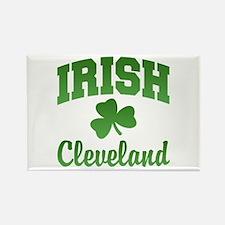 Cleveland Irish Rectangle Magnet
