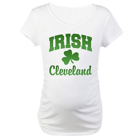 Cleveland Irish Maternity T-Shirt