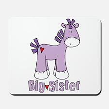 Sock Pony Big Sister Mousepad