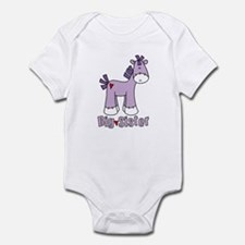 Sock Pony Big Sister Infant Bodysuit