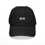 Peace Love Belgian Sheepdog Black Cap
