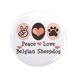 Peace Love Belgian Sheepdog 3.5