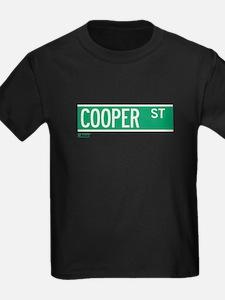 Cooper Street in NY T