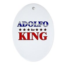 ADOLFO for king Oval Ornament