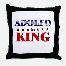 ADOLFO for king Throw Pillow