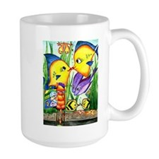 Catty-Whompus Valentine's Aquarium Mug