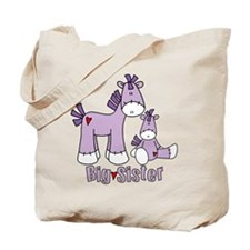 Sock Pony Duo Big Sister Tote Bag