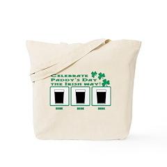 Celebrate Paddy's Day Tote Bag
