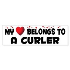 Belongs To A Curler Bumper Bumper Sticker