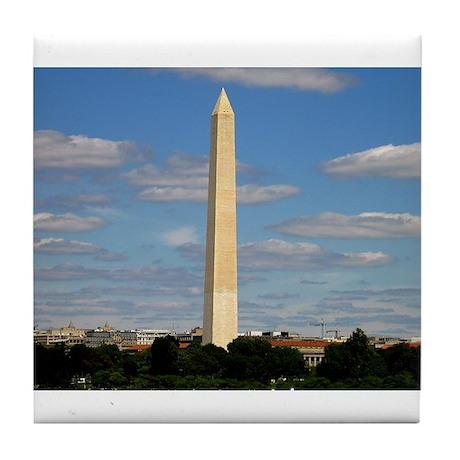 Washington Monument Tile Coaster