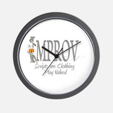 Improv Wall Clock