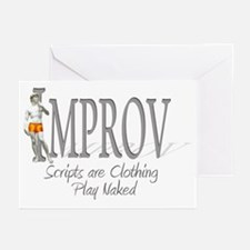 Improv Greeting Cards (Pk of 10)