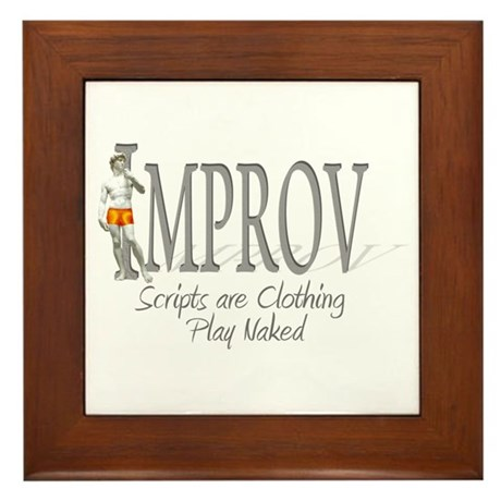 Improv Framed Tile