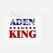 ADEN for king Greeting Card