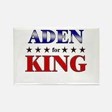 ADEN for king Rectangle Magnet