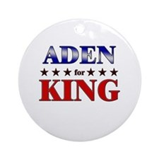 ADEN for king Ornament (Round)