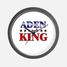 ADEN for king Wall Clock