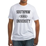SOUTHPAW UNIVERSITY Fitted T-Shirt